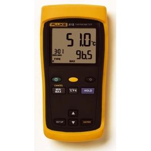 1-kanaliga temperatuurimõõtja Fluke 51-2, 50Hz+ Fluke 80PK-1