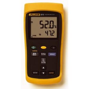 2-kanaliga termomeeter Fluke 52-II