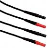 TL27 testrijuhtmed punane+must 1,5m 1000V
