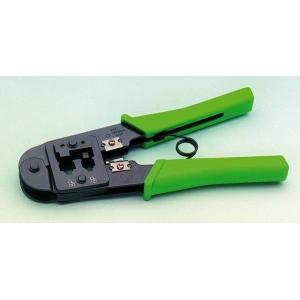 Crimp Tool RJ11, RJ12, RJ45, rohelised käepidemed