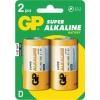 Patarei D 1,5V Alkaline GP 2 tk