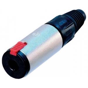 6,3mm stereo pesa kaablile, lukustatav
