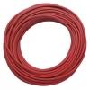 Mõõtejuhe, silikoonist, 15m/rull, punane
