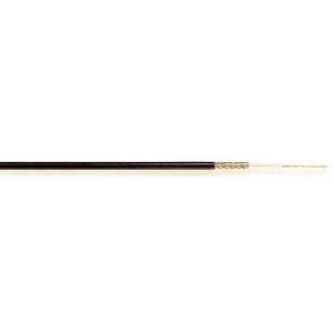 Koaksiaalkaabel RG174 50R must 2,8mm