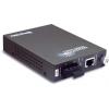 FO konverter: 10/100Base-TX <> 100Base-FX Single Mode SC / 15km
