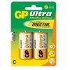 Patarei C 1,5V Alkaline Ultra GP 2tk/pk