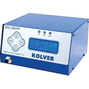 Kolver EDU2AE/TOP - 8 different programs - selection by barcode, socket tray, switchbox ESD