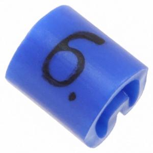 Kaablimärgis ´´6´´ sinine, 2,0-3,2mm, kaablile / 1000tk pakis