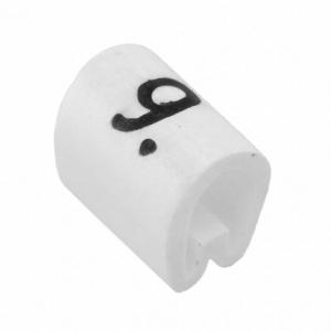 Kaablimärgis ´´9´´ valge, 2,0-3,2mm, kaablile / 1000tk pakis