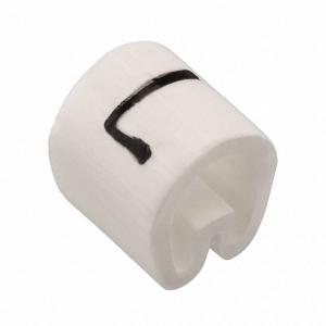 Kaablimärgis ´´L´´ valge, 4,3-6,9mm, kaablile / 500tk pakis