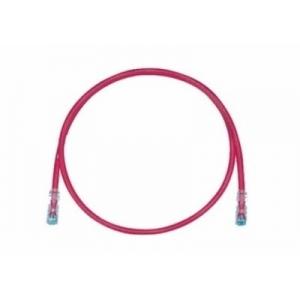 Võrgukaabel Cat6 UTP 0.5m, punane LSZH