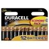 Patarei AA 1,5V Alkaline Duracell / 12tk pakis