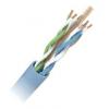 Keerdpaarkaabel Cat6 UTP 4x2x0,5 ühekiuline 23AWG LSZH sinine DRAKA 305m/kast
