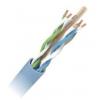 Keerdpaarkaabel Cat6 UTP 4x2x0,5 ühekiuline 23AWG LSZH sinine 500m/rull