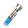 Keerdpaarkaabel Cat6 FTP 4x2x0,5 ühekiuline 23AWG LSZH sinine DRAKA 305m/kast