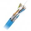 Keerdpaarkaabel Cat6 FTP 4x2x0,5 ühekiuline 23AWG LSZH sinine 500m/rull