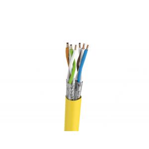 Keerdpaarkaabel Cat7 S/FTP 4x2x0,5 ühekiuline PiMF 23AWG FRNC oranž 500m/rull