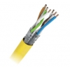 Cable S/FTP LSHF CAT7A BKT 1200 Yellow Wire 23AWG ...