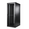Seadmekapp 47U 2186x800x1000 k,l,s, perforeeritud uksed, kandevõime kuni 1000kg, must, WEST IVB