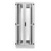 Seadmekapp 45U 2120x800x1000 k,l,s, perforeeritud uksed, kandevõime kuni 1000kg, hall, WEST IV