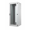 Seadmekapp 45U 2120x800x1200 k,l,s, perforeeritud uksed, kandevõime kuni 1000kg, hall, STANDARD II