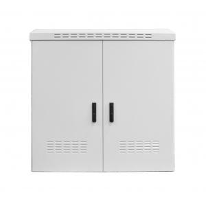 Tööstuslik seadmekapp IP55 15U 885x800x450 k,l,s, metall uks, sokkel, üks külgsein, hall