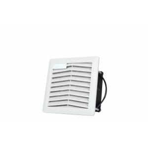 Ventilaator seadmekapile + filter, hall