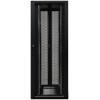 Seadmekapp 45U 2120x800x1000 k,l,s, perforeeritud uksed, kandevõime kuni 1500kg, must, 4DC