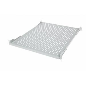 Seadmeriiul 19´´ 4-punkti kinnitusega 350mm, rööpavahe 150-500mm reguleeritavad kinnitused, max 80kg, hall