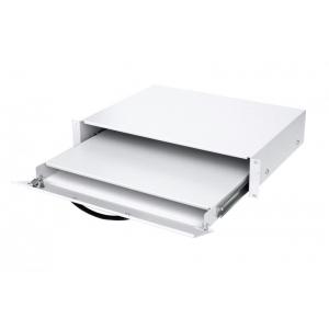Klaviatuuri sahtel 19´´ 2U lukustatav 350mm sügav max3kg hall