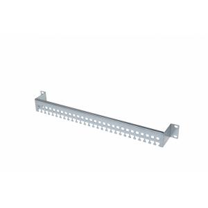 Kaablihoidja vertikaalne 600mm, kaablisidemete kinnitus, metall