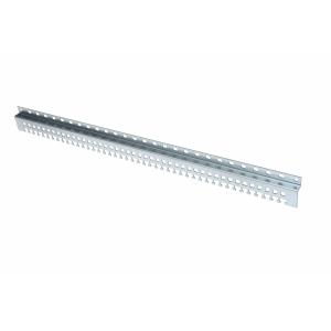 Kaablihoidja vertikaalne 1000mm, kaablisidemete kinnitus, metall