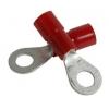 Kaabliking rõngas M5 0,25...1,5mm² juhtmele, punane, 5,3x10,0mm 100tk/pk