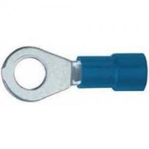 Kaabliking rõngas M3 1,5...2,5mm² juhtmele, sinine, ø6mm
