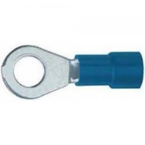 Kaabliking rõngas M4 1,5...2,5mm² juhtmele, sinine, 4,3x8,0mm