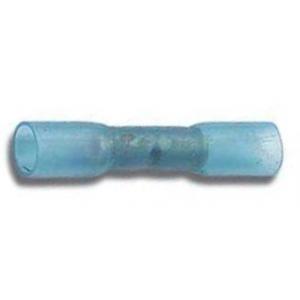 Jätkuhülss 1,5-2,5mm² termokahaneva rüüziga, sinine 100tk/pakk
