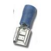 Faston pesa 4,8x0,5mm 1,5...2,5mm2 juhtmele, sinine 100tk
