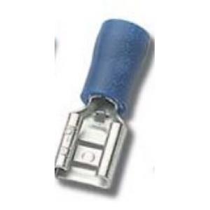 Faston pesa 6,35x0,81mm 1,5...2,5mm2 juhtmele, sinine