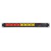 Toitepaneel manageeritav 8 UPSi pesa C13 pistik C20 16A/3.7kW