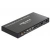 KVM switch: 2 porti, Displayport, USB, kaablitega, väljund Displayport või HDMI, DP kuni 3840x2160, HDMI kuni 1920x1080