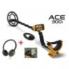 Metallidetektor Garrett ACE 300i, 8,5x11 tollise DD pooliga, 8 KHz