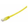 Võrgukaabel Cat6 UTP 5.0m, kollane LSZH