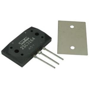 Transistor bipolar BJT Sanken 2SC3264, NPN, 230 V, 60 MHz, 200 W, 17 A, 50 hFE