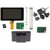 Raspberry Pi 3 Premium puuteekraani komplekt...
