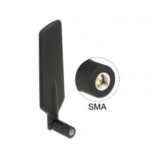Ringantenn: 1-4dBi LTE, Bluetooth,GSM, UMTS, WLAN Dualband, ZigBee, Z-Wave, sisetingimustele, sma