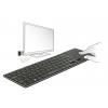 Klaviatuur, juhtmevaba, touchpad,toetab smartTV ja PC windowsiga, must,
