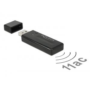 WiFi võrgukaart: USB, kuni 867Mbps, 5/2.4GHz 802.11n/b/g/ac