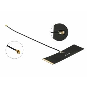 TETRA Antenn 0 dBi MHF® I pistik, 430-470MHz, isekleepuv
