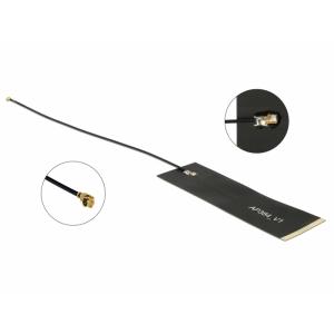 LoRa Antenn 1.68 dBi MHF pistik, 863-928MHz, isekleepuv