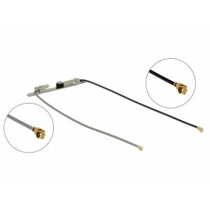 WLAN Antenn 1.12-3.18 dBi2 x MHF® I pistik ac/a/h/b/g/n isekleepuvvõi kruvikinnitus